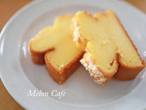 ホットケーキミックスで簡単、サクッ&もふもふ☆クリームチーズパウンド♪