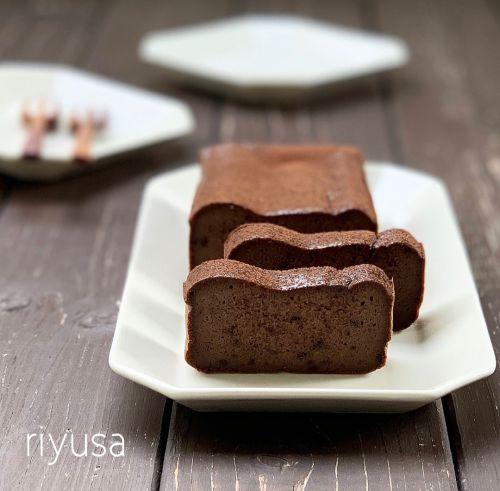 【パルテノが活躍】材料4つでテリーヌショコラ風ケーキ