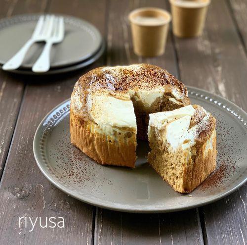 【焼くまで10分】パルテノと珈琲のホロ苦ケーキ