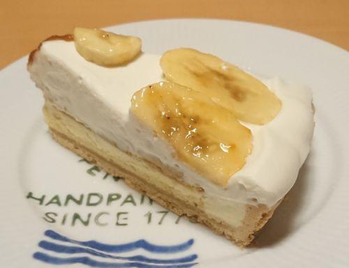 """バナナと """"ルガール"""" クリームチーズムースのタルト~焦がしバター風味~@キルフェボン"""
