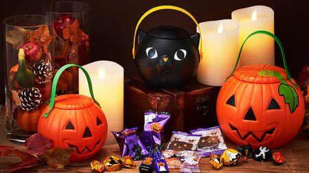 モロゾフのハロウィンまとめ -- かぼちゃランタンにキャンディ・チョコ・クッキーぎっしり