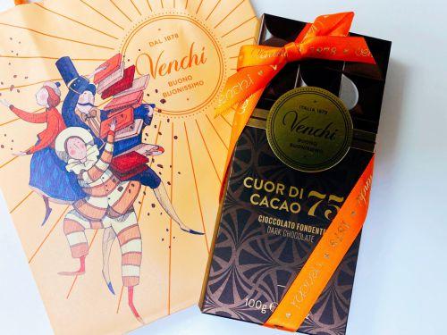 イタリア発のチョコレート&ジェラート■銀座「Venchi(ヴェンキ)」