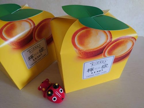 福島・柏屋☆彡チーズタルト檸檬(れも)