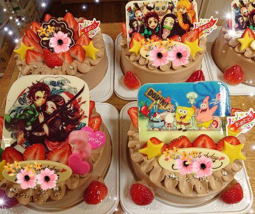 『プリントデコレーションケーキ☆』