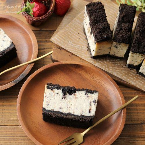 クッキークリームチーズケーキ!