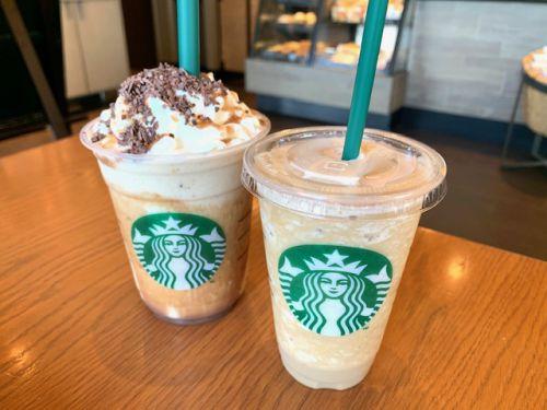 STARBUCKS COFFEE 〜 チョコレートマロンフラペチーノ ♫