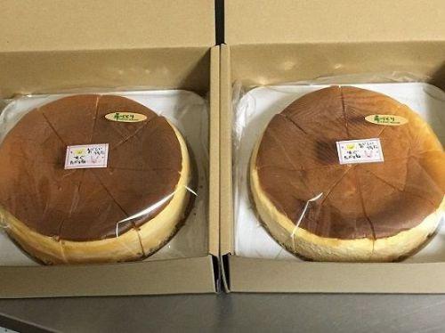ベイシックアイテムをお得に(^_-)-☆【低糖質】ベイクドチーズケーキ・2台セット