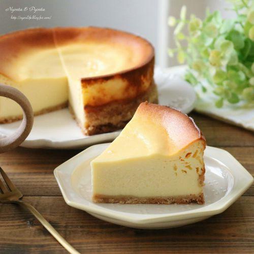 ヘルシー♪カッテージチーズのチーズケーキ2種