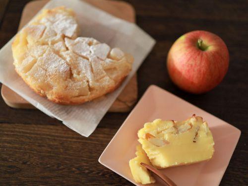 「ホットケーキミックスで簡単!しっとり&濃厚リンゴケーキレシピ」☆「みんなの暮らし日記ONLINE」レシピ記事公開のお知らせ