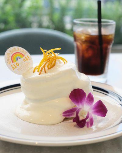朝パンケーキはゼロカロリー(笑) ノースショアハナフル(大阪北浜)