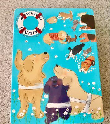 盲導犬サポートshopのクッキー