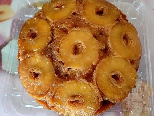 コストコ☆彡パイナップルアップサイドダウンケーキ